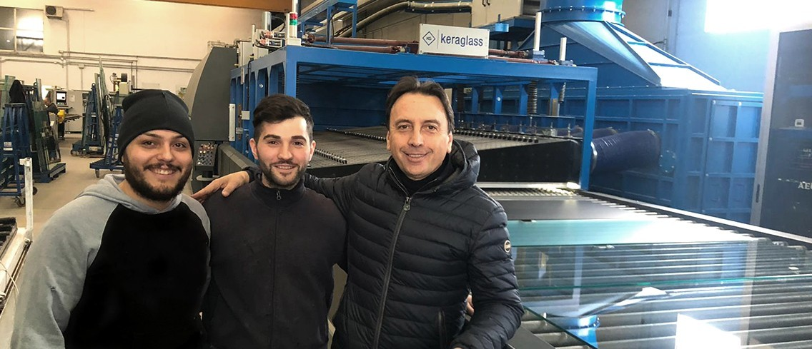 Keraglass Edil Vetro conquista la Campania pt
