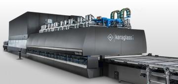 Nuove soluzioni ecologiche per efficientamento energetico di forni di tempra per vetro piano Keraglass