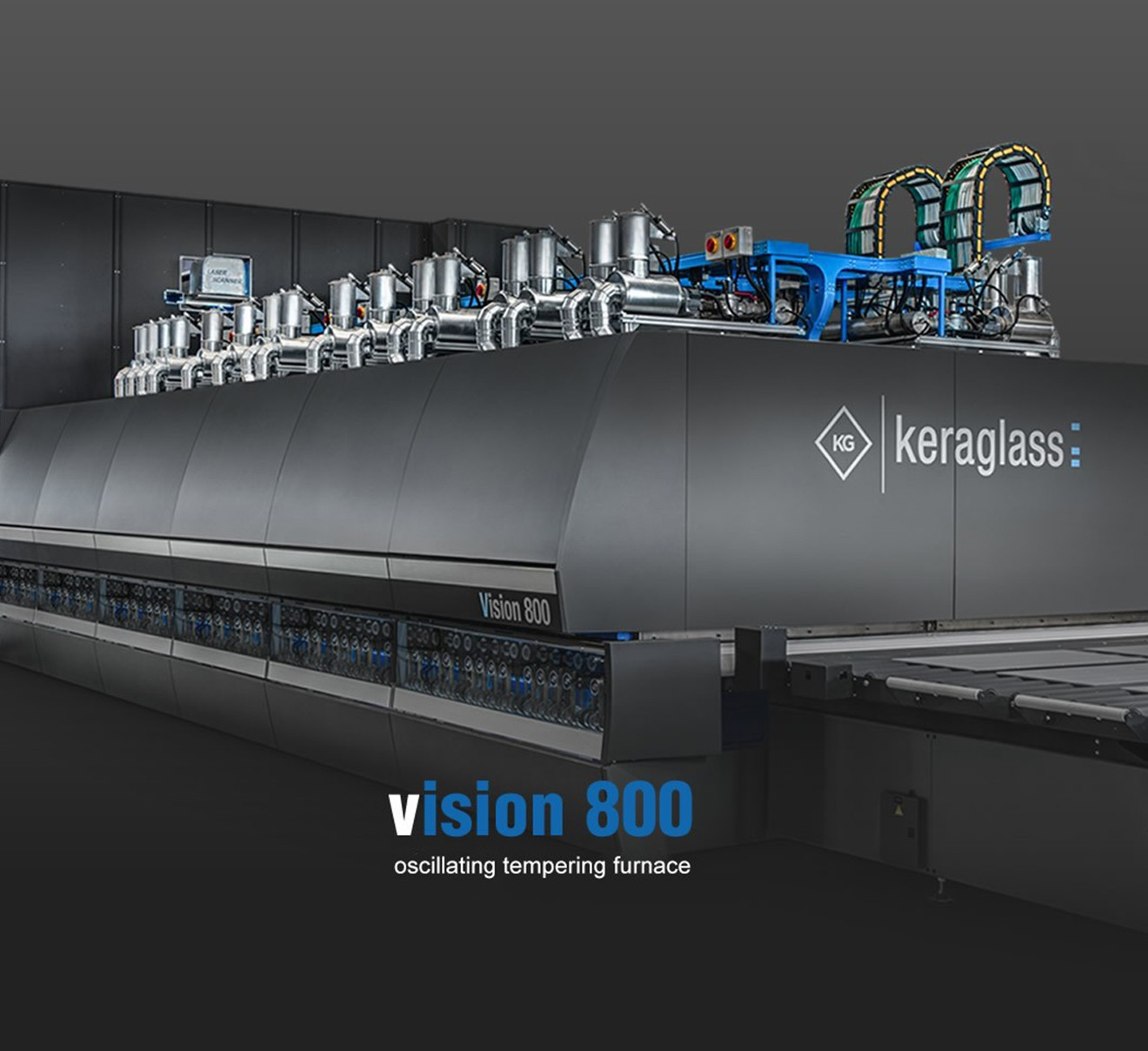 Keraglass - Machinery for the glass industry - Tempering, Screen