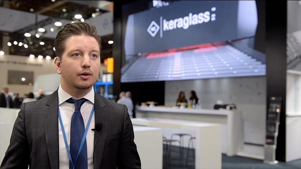 Maicol Spezzani Executive Director - Glasstec 2018 Keraglass